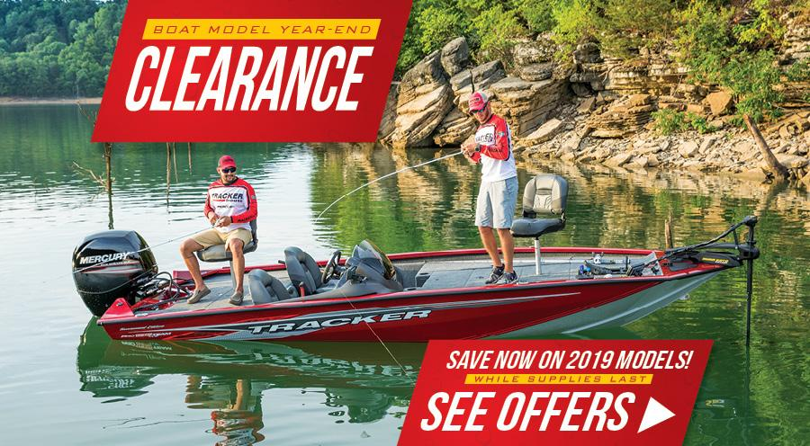 Model Year End Boat Clearance Event